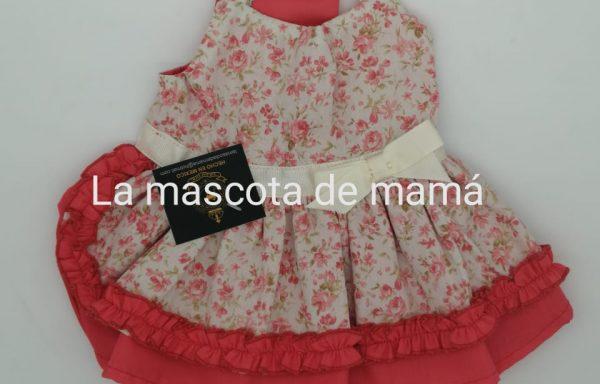 Vestido de rosas